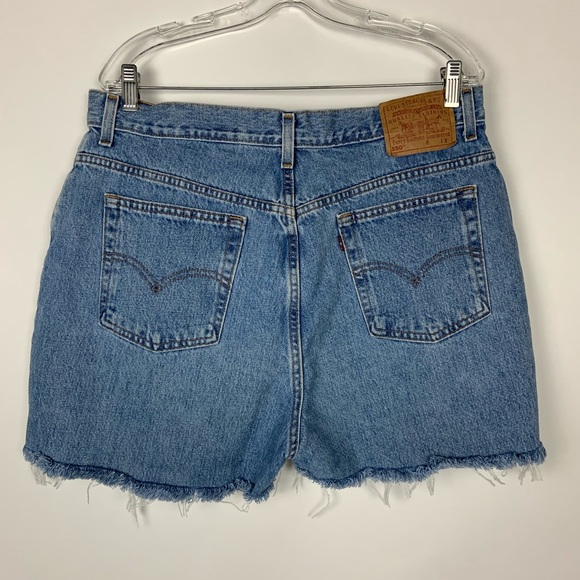Levi's Pants - Levis Vintage cut off jean shorts high rise